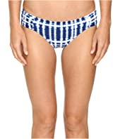 La Blanca - Moody Blues Side Shirred Hipster Bottom