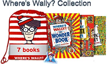 Where's Wally Collection 7 Book Set in a Bag