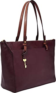 Fossil Rachel Leather 35.56 cms Purple Gym Tote (ZB7793503)
