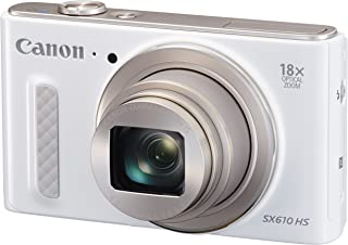 Canon デジタルカメラ PowerShot SX610 HS ホワイト 光学18倍ズーム PSSX610HS(WH)