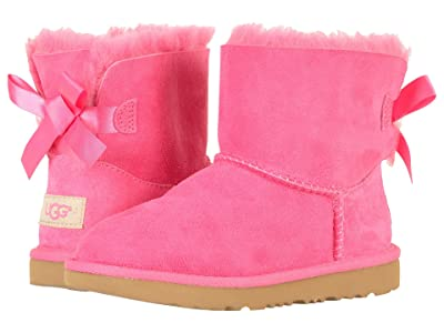 UGG Kids Mini Bailey Bow II (Little Kid/Big Kid) (Pink Azalea) Girls Shoes