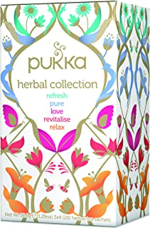 pukka (packer) selection box organic herbal tea 20TB