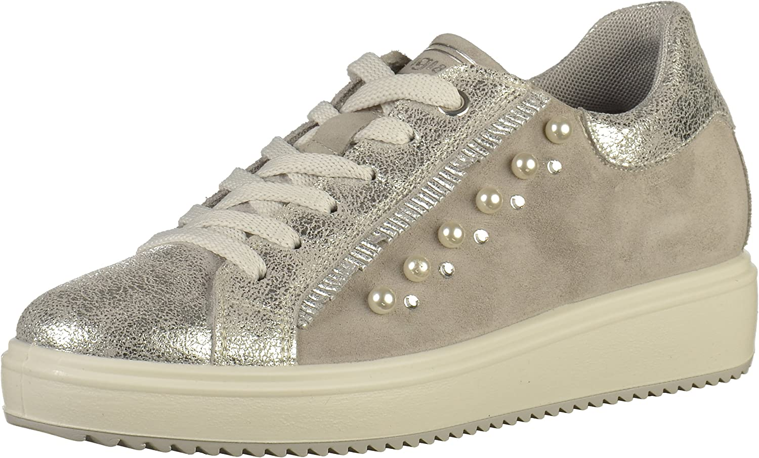 IGI&CO shoes Woman Low Sneakers with Internal Wedge 1148722