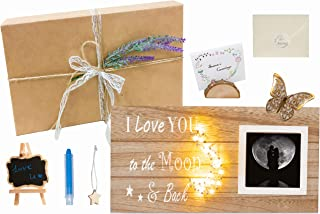 Sure Win-Win I Love You to the Moon and Back. Love Gifts, Sailor Moon Hang Gifts for Boyfriend, Girlfriend, Husband, Wife....