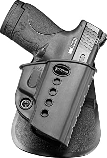 Fobus SWS Evolution Holster for S&W M&P and M&P M2.0 Shield 9mm & .40, Taurus Slim 708, 709 & 740, Walther PPS 9mm & .40, CZ97B, Right Hand Paddle