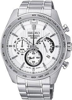 Seiko Men Silver Chronograph Watch - SSB297P1