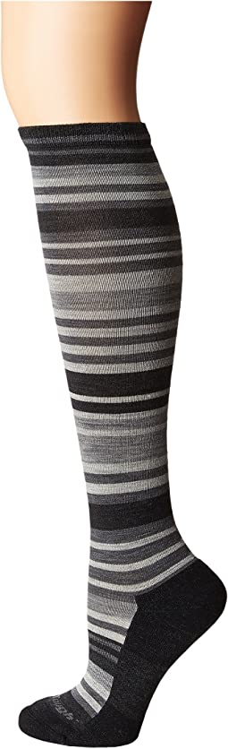 Striped Knee High Light Cushion Socks