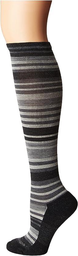 Darn Tough Vermont Striped Knee High Light Cushion Socks
