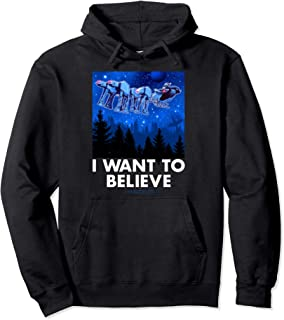AT-AT Reindeer I Want To Believe Holiday Pullover Hoodie