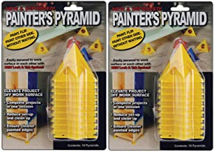 2-PACK - Painter's Pyramid Stands Yellow