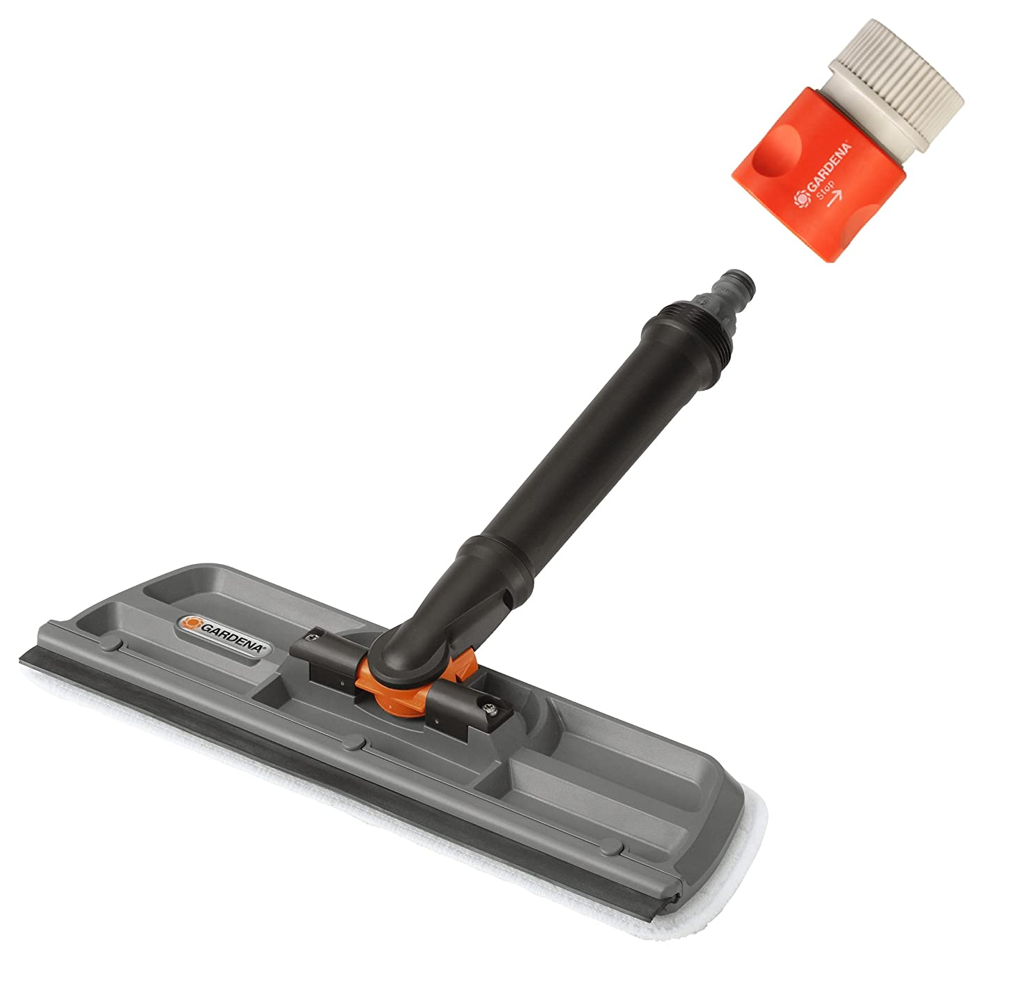 Gardena 5564 Window Cleaner With Wiper And Swivel Elbow