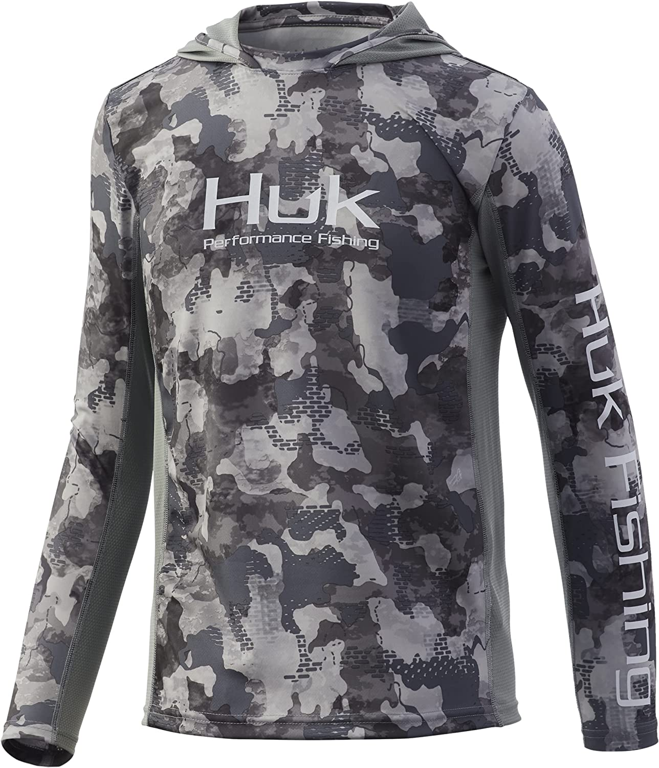 HUK Kids' Icon X Challenge the lowest price Cheap sale of Japan ☆ Long-Sleeve Shirt Hoodie
