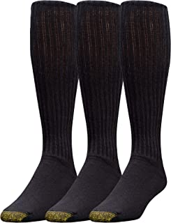 Gold Toe Men's Ultra Tec Performance Over The Calf Athletic Socks, 3-Pack