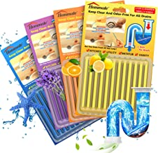 Drain Sticks Drain Cleaner Sticks Drain Deodorizer Sticks for Preventing Clogs Eliminating Smelly Odor Kitchen Bathroom Si...