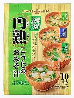 ひかり味噌 円熟こうじのおみそ汁減塩 10食×4袋