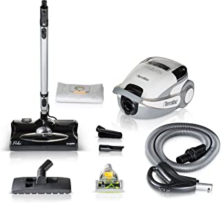 Prolux TerraVac 5 Speed Quiet Canister Vacuum Cleaner with Sealed HEPA Filter …