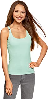 oodji Collection Women's Racerback Tank Top