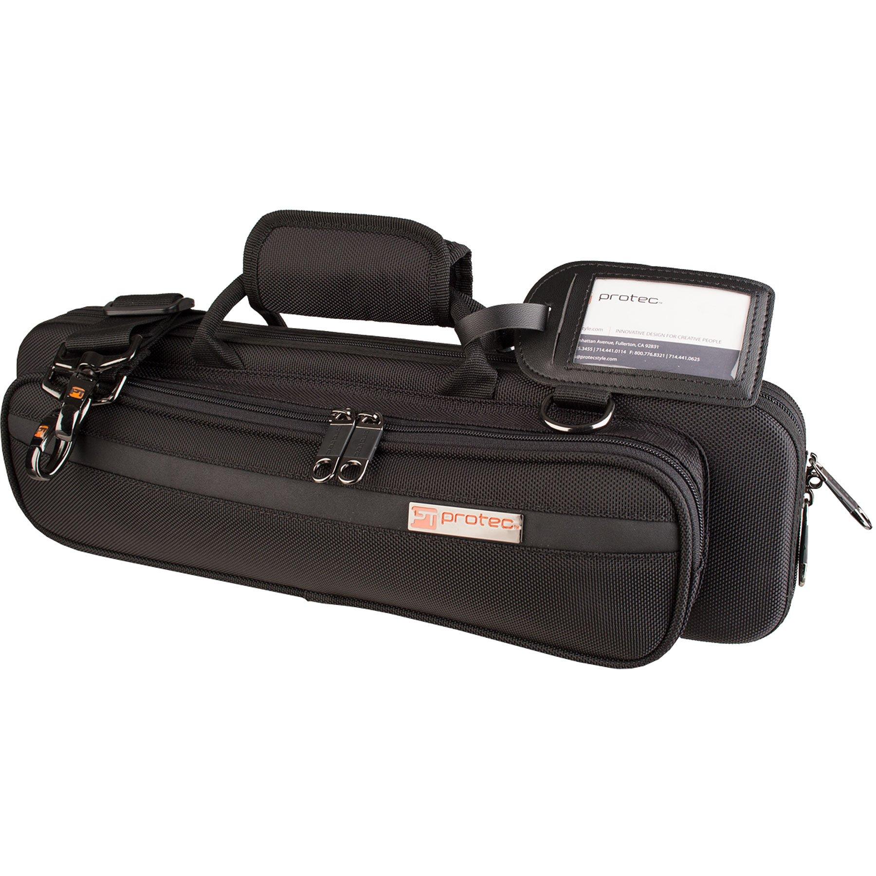 Protec PB308 - Funda para flauta travesera, color negro: Amazon.es: Instrumentos musicales