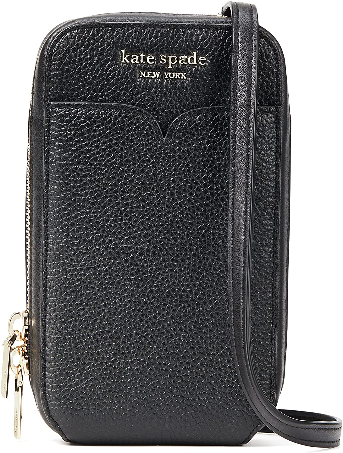 Kate Spade New York Zeezee North/South Phone Crossbody for iPhone Black One Size
