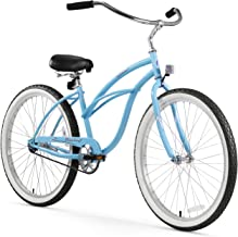"Firmstrong Urban Lady Single Speed - Women's 26"" Beach Cruiser Bike (Baby Blue)"