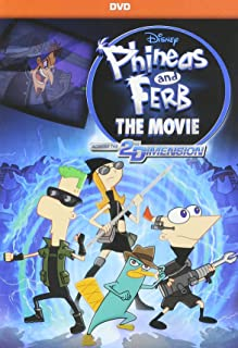 Disney Phineas And Ferb The Movie: Across The 2nd Dimension