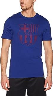 Nike 2017-2018 Barcelona Core Crest T-Shirt (Royal)