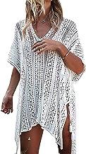Voqeen Trajes de Baño Cubrir Mujer Vestido Mujer Sexy Verano Crochet Ahuecar Bikini Cover Up Vestido de Playa