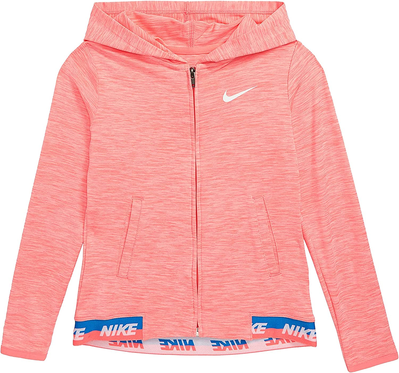 Nike Little Girls Sport Essentials Dri-FIT Full Zip Hoodie