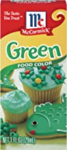 McCormick Green Food Color, 1 Fl Oz (Pack of 1)
