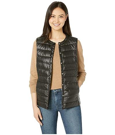 LAUREN Ralph Lauren Packable Soft Down Vest (Black) Women