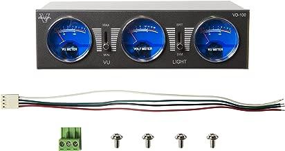 Visual Design VD-100 Volume Meter (CHARCOAL)