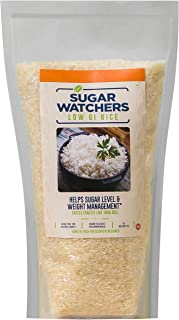 Sugar Watchers Low GI Rice, 1 Kg; Diabetic Friendly White Rice