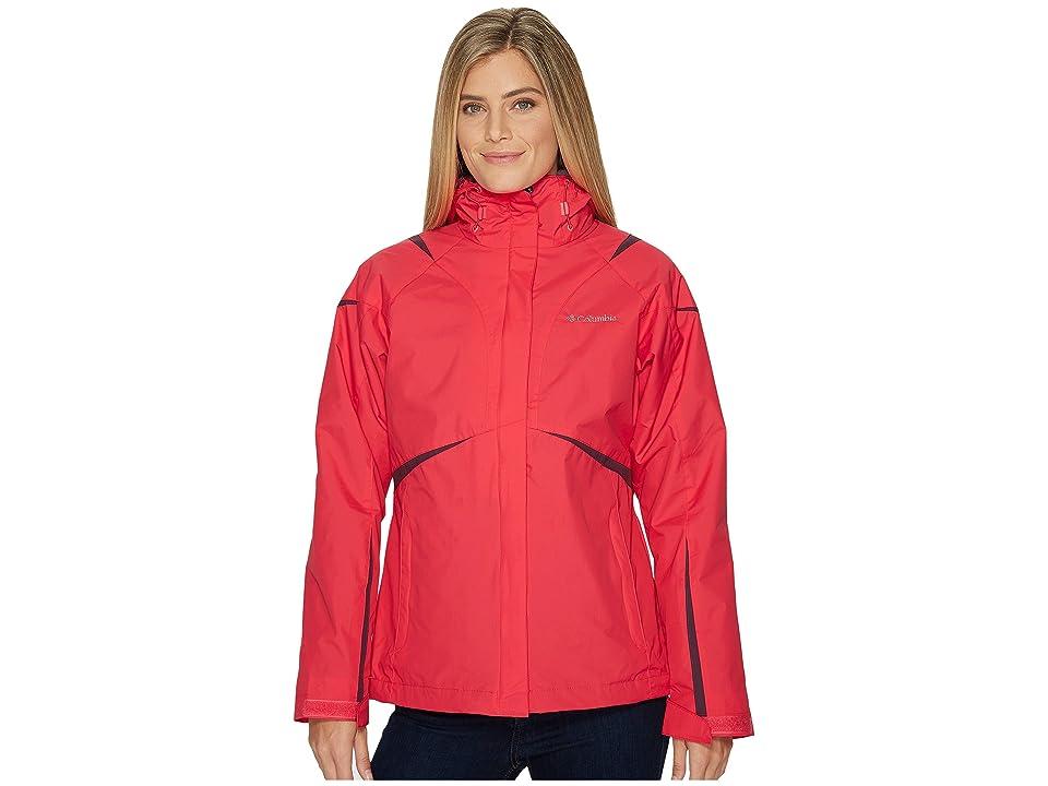 Columbia Blazing Star Interchange Jacket (Punch Pink) Women
