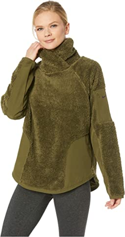 Long Sleeve Pullover Sherpa Top