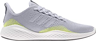 Adidas Fluidflow 2.0 Mesh Pull-Tab Side-Stripe Patterned Lace-Up Running Sneakers for Men