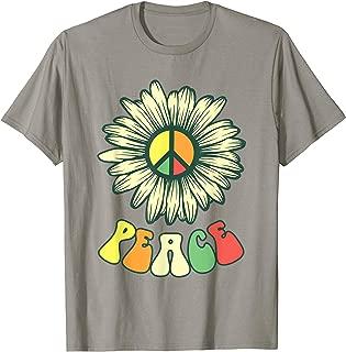 Hippie Hippies Peace Vintage Retro Costume Hippy Gift T-Shirt