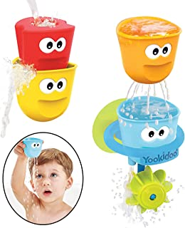 Yookidoo Fill 'N' Spill Action Cups Bath Toy