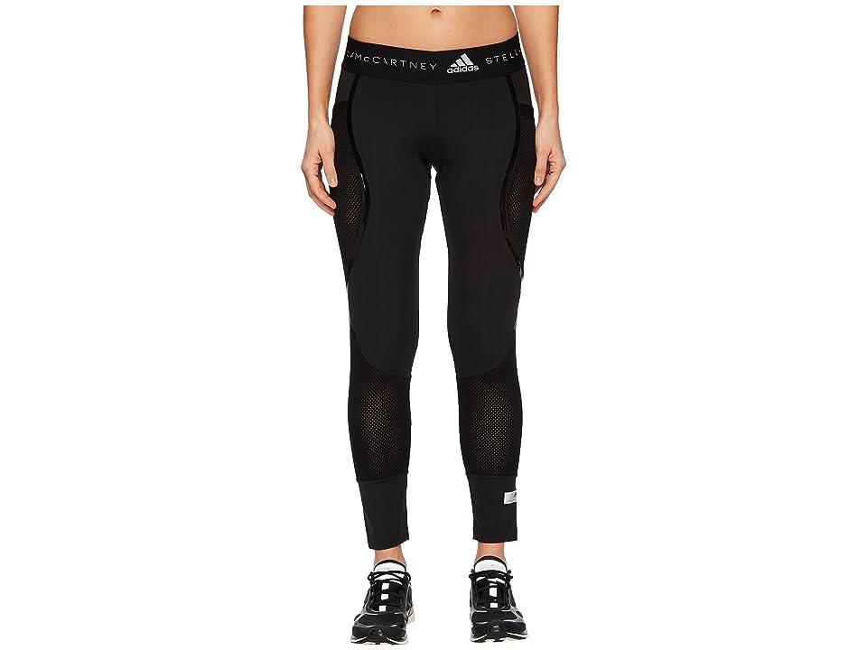 adidas by Stella McCartney Run Ultra Flat Knit Mix Tights CF3978 (Black) Women