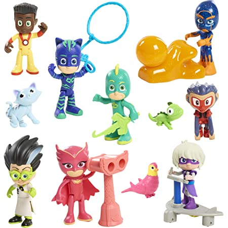 PJ MASKS PJMD4000 - Figuras de acción para niños : Amazon.es ...