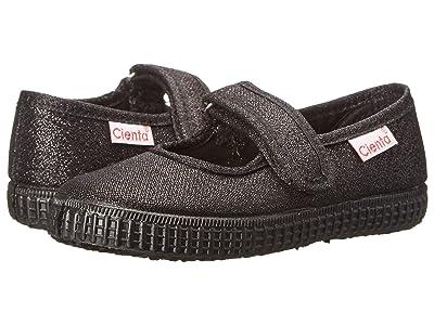 Cienta Kids Shoes 56113.01 (Infant/Toddler/Little Kid/Big Kid) (Black/Black Sole) Girl
