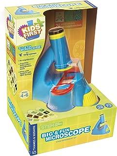 Thames & Kosmos 634032 Kids First Big & Fun Microscope Science Experiment Kit