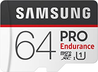بطاقة سامسونج برو انديورانس مايكرو اس دي اكس سي مع محول 64 GB MB-MJ64GA/AM