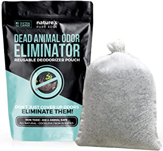 Dead Animal Smell Removal Reusable Deodorant Pouch. Eliminate dead Animal Smell Without Scent. Decay Odor Remover. Fragran...