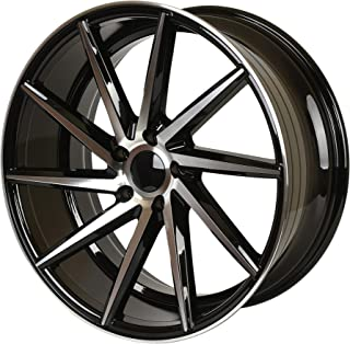 "IPW W013 20x8.5 5x114.3 35mm Matte Black Wheel Rim 20"" Inch"