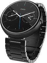 Motorola Moto 360 1.56-Inch Smartwatch for Android – Dark Metal (1st Generation)..