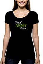 army mom bling shirts