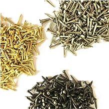 Draadnagels 300pcs 6mm 8mm 10mm Round Head Nail meubelinstallatie Decoratieve Schroef Cusp Fasteners Hardware Goud Zilver ...
