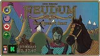 Odd Bird Games ODD150 Feudum - The Queen's Army Solo Expansion (Kickstarter Exclusive)