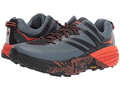 Hoka One One Speedgoat 3 (Stormy Weather/Tangerine Tango) Men