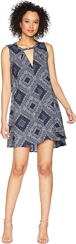 Modern American Bandana Sleeveless Dress